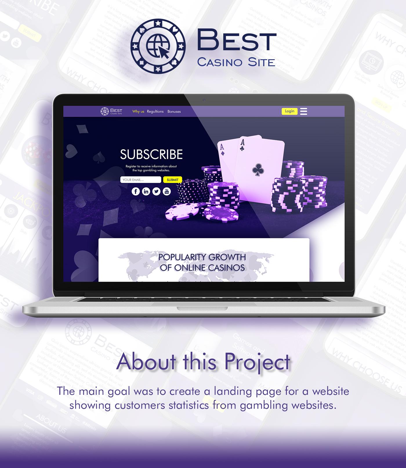 Casino Website UX UI 1 Rosen Markov