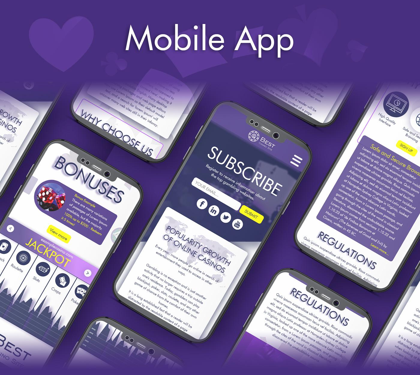 Casino Website UX UI 4 Rosen Markov