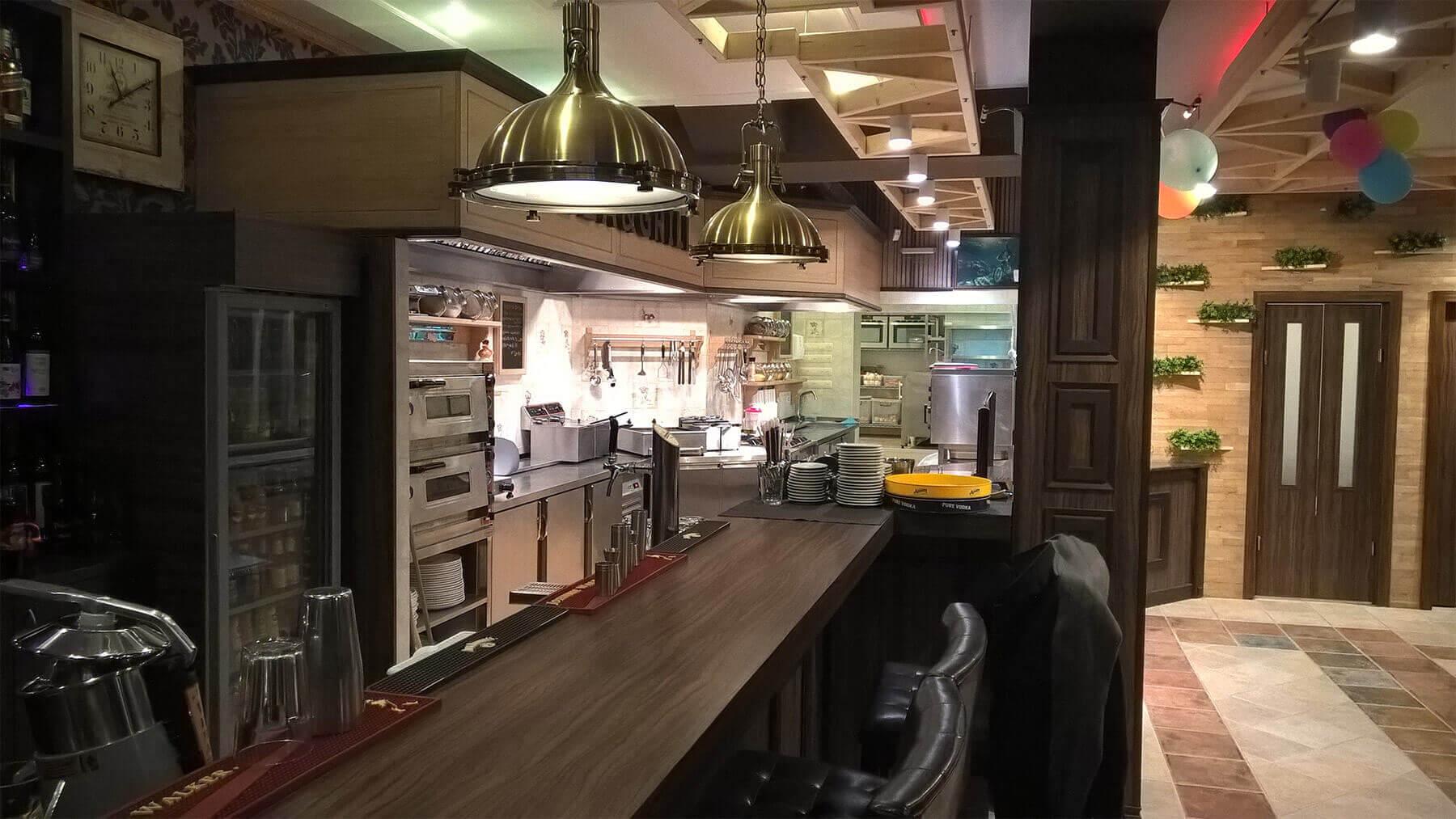 Pizza Bar Capris - Resurant Interior 1