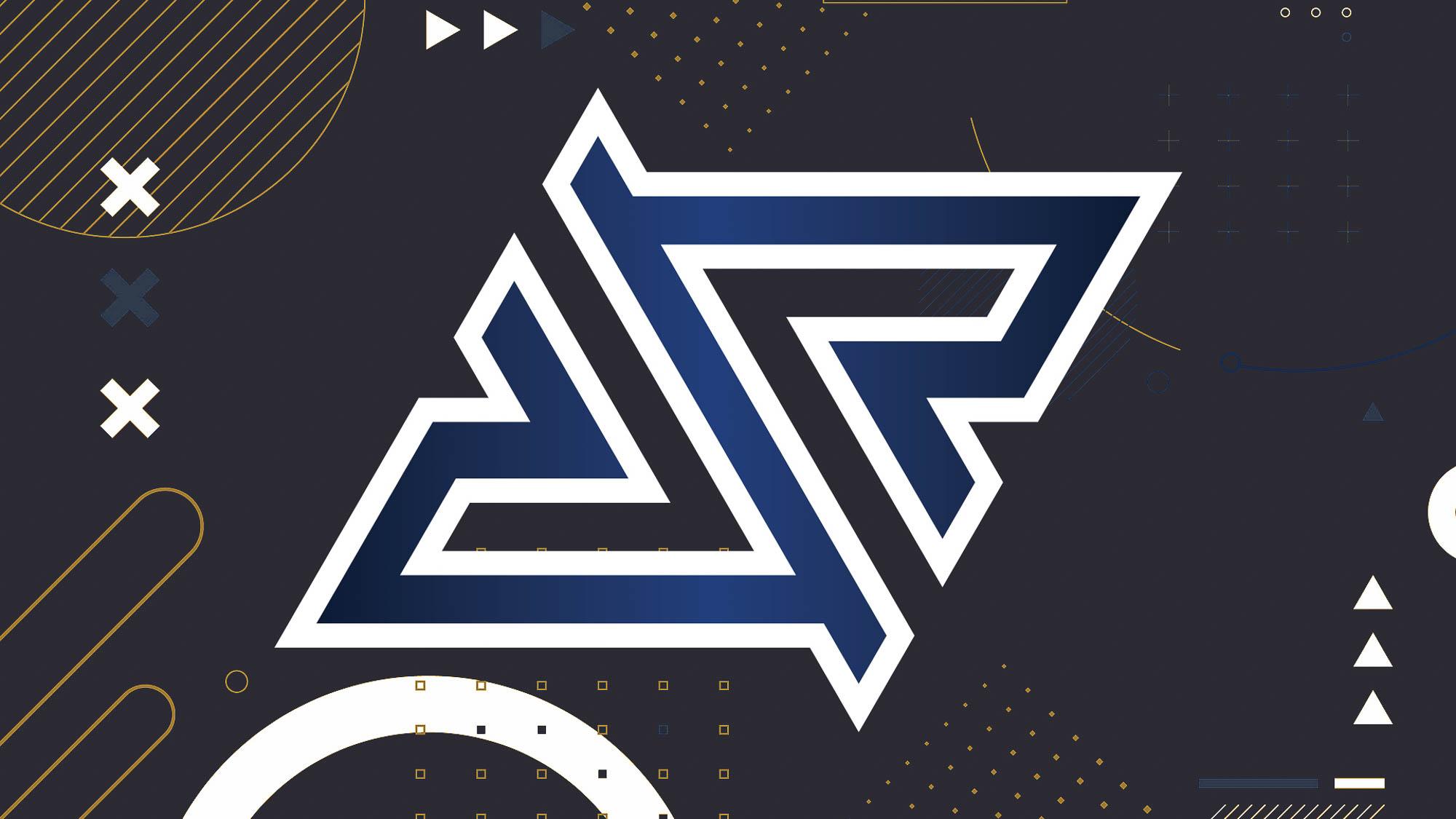 Royal Five - Logo Preview - Blue White