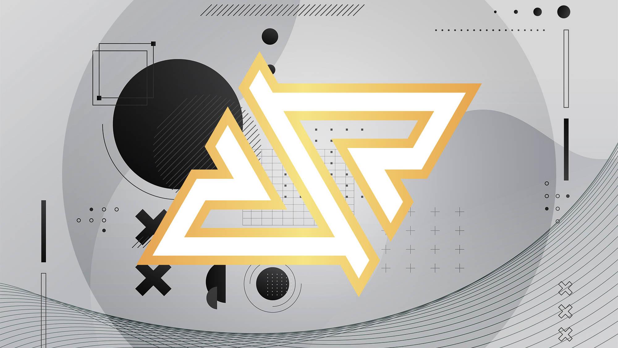 Royal Five - Logo Preview - White Gold